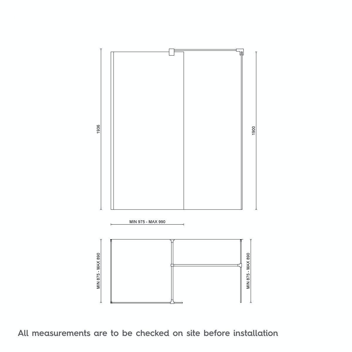 Dimensions for 1600 x 900