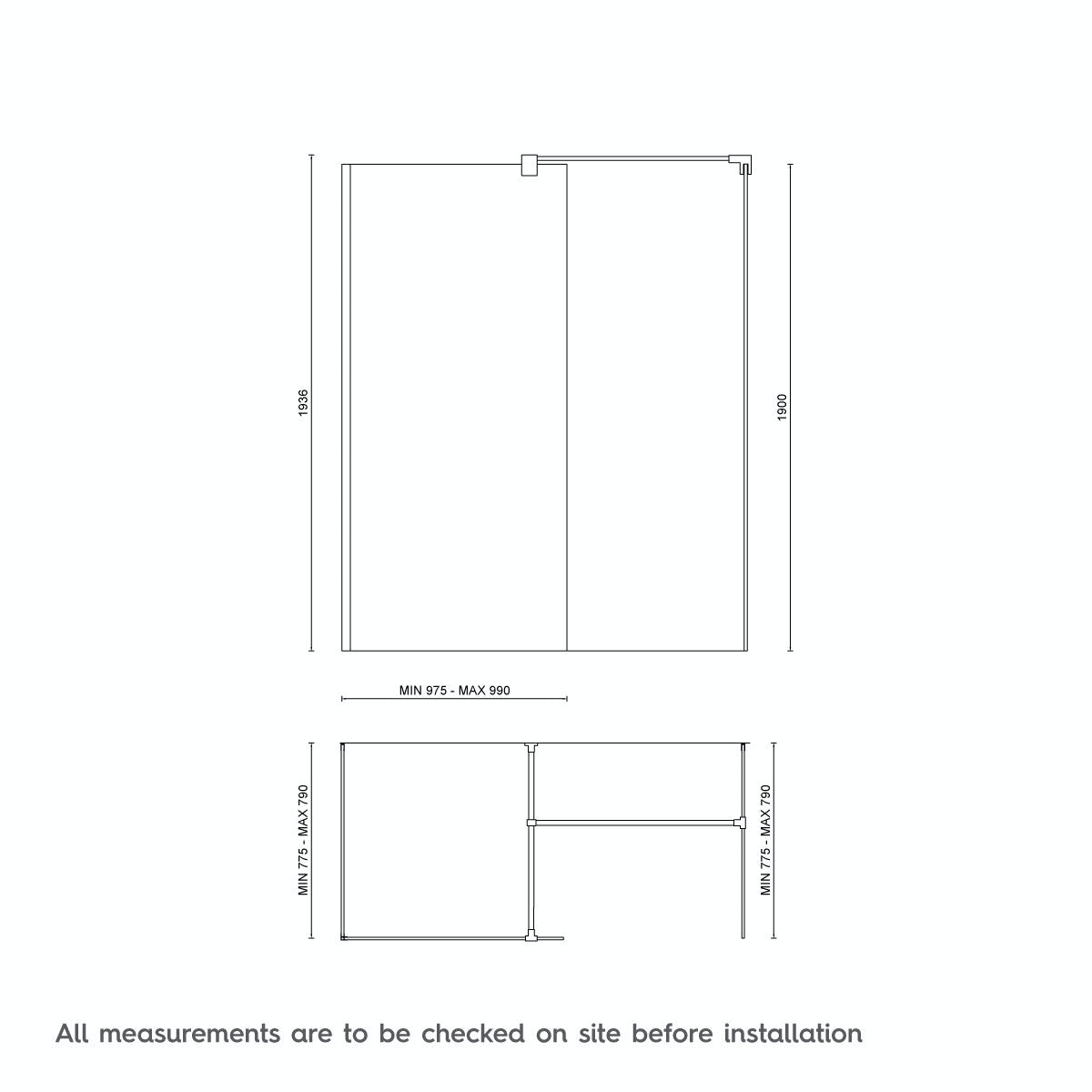 Dimensions for 1600 x 800