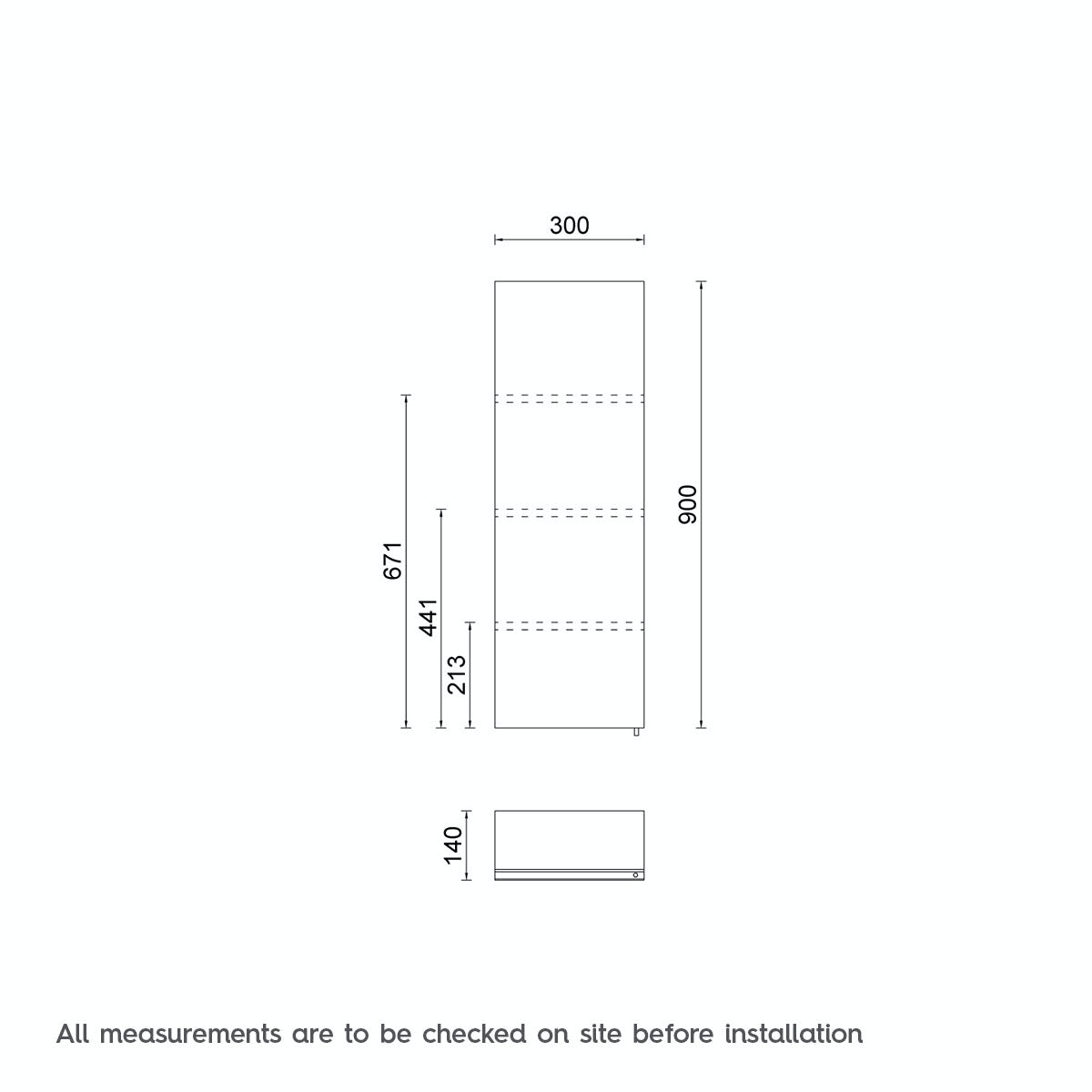 Bathroom cabinet measurements - Dimensions For Orchard Titan Stainless Steel Bathroom Cabinet