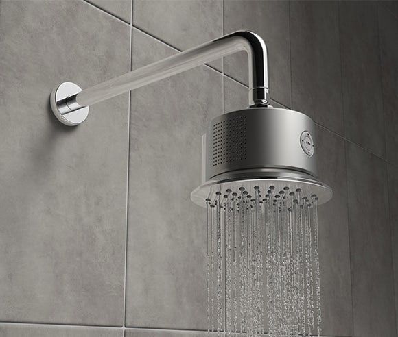 Free bluetooth shower head speaker with selected shower sets