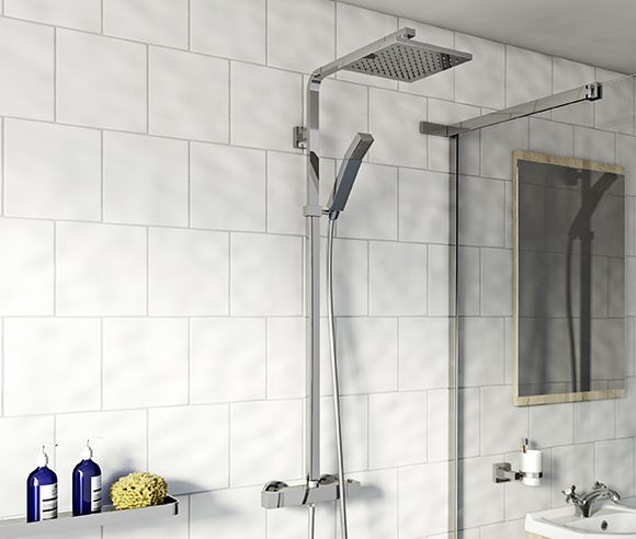 Exposed mixer showers