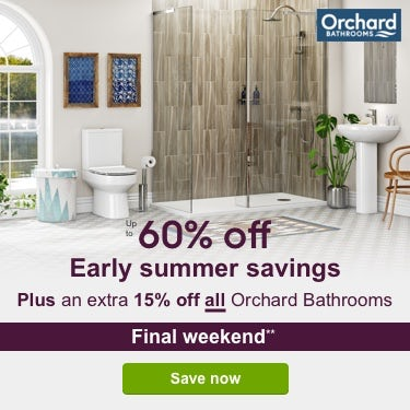 Up to 60% off Early Summer Savings PLUS an extra 15% off**