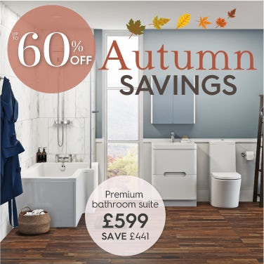 Up to 60% off Autumn Savings