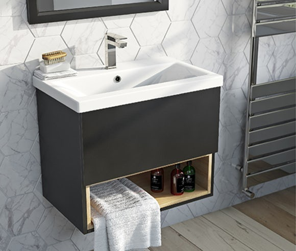 wall hung vanity units - Bathroom Cabinets 30cm Wide