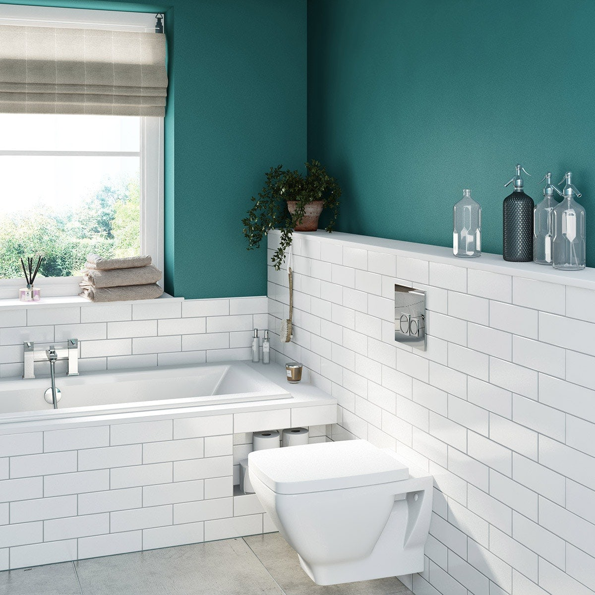 How To Put Up Tiles In A Bathroom: Tiles, Walls And Floors