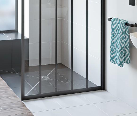 Wet room shower trays