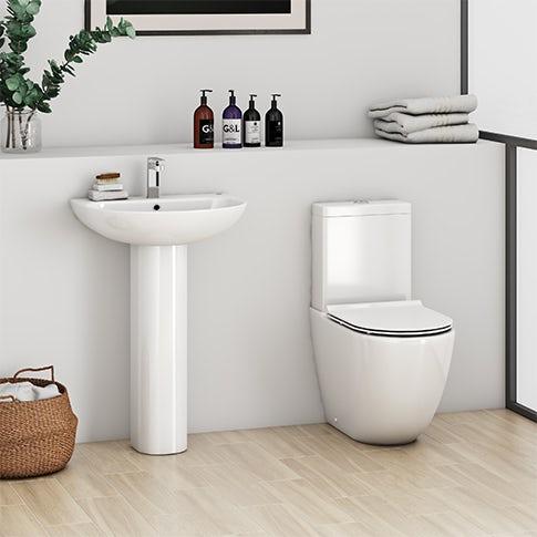 Basin & toilet suites
