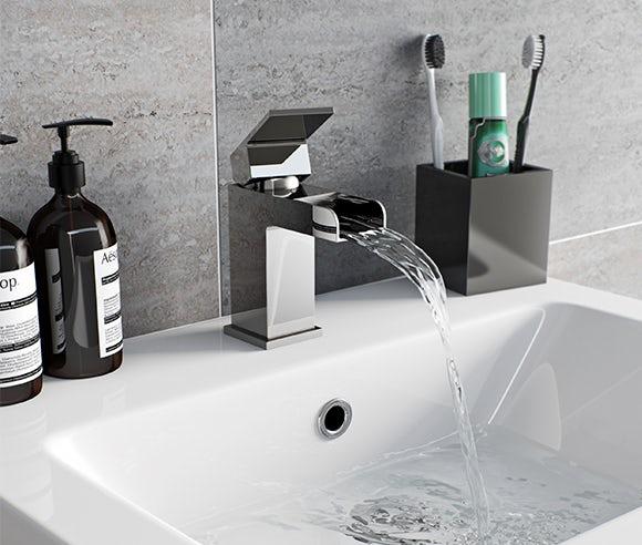 Derwent waterfall tap range