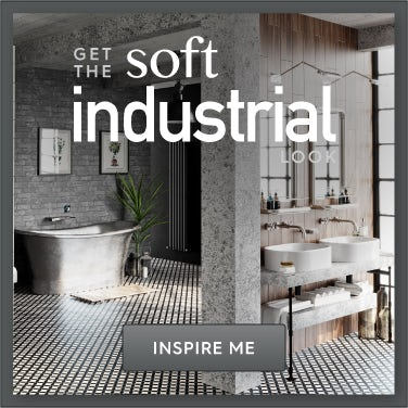 Soft Industrial bathroom