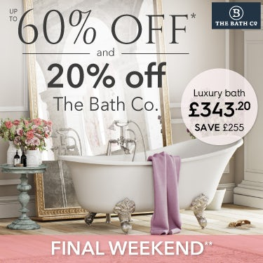 Get the French Floral look with 20% off The Bath Co.