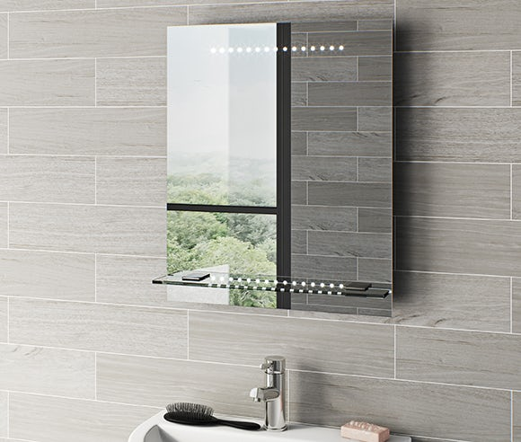 Mirrors and mirrored cabinets