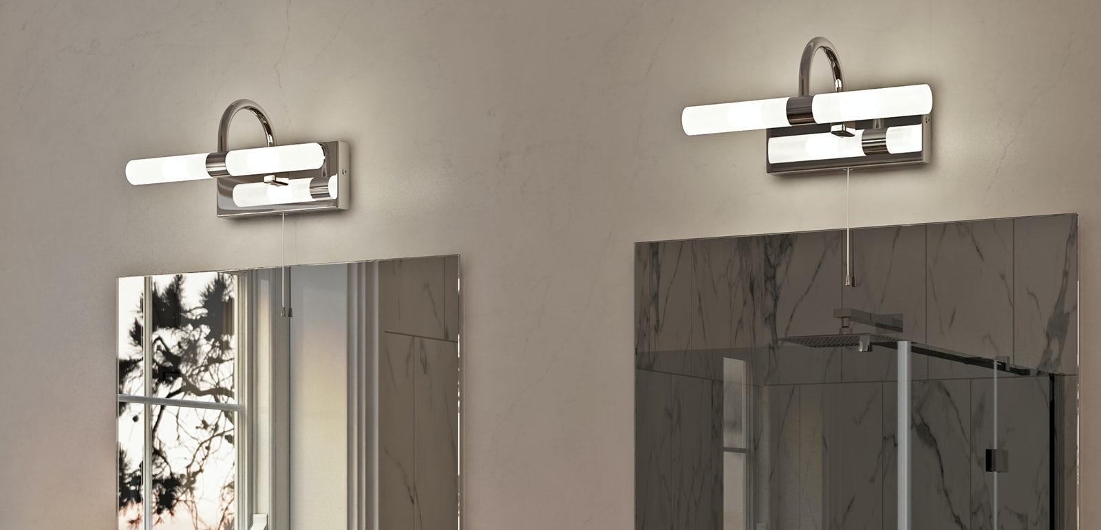 Traditional bathroom ceiling light