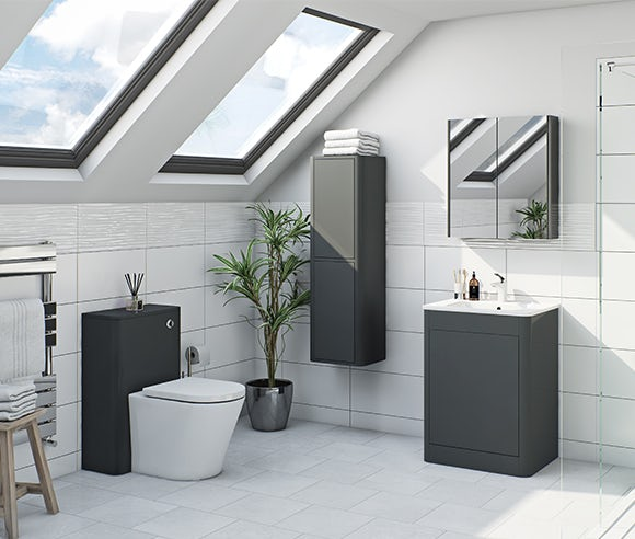 Carter slate bathroom furniture
