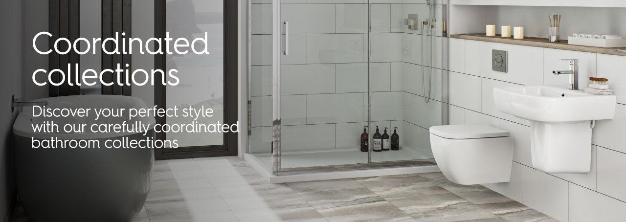 Bathroom suite ranges