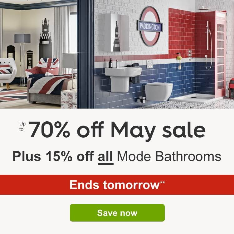 Up to 70% off May Sale PLUS an extra 15% off**