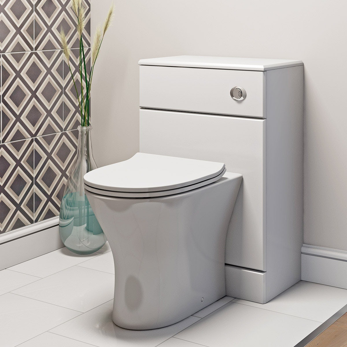 Contemporary toilets