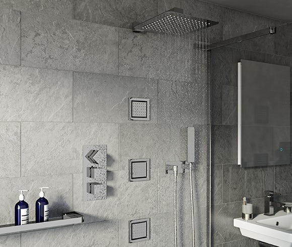 Up to 50% off luxury showers