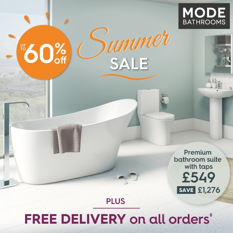 Save up to 60% in our Summer Sale