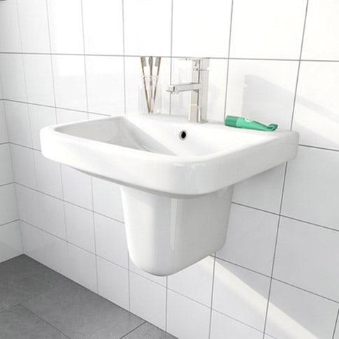 Semi pedestal basins