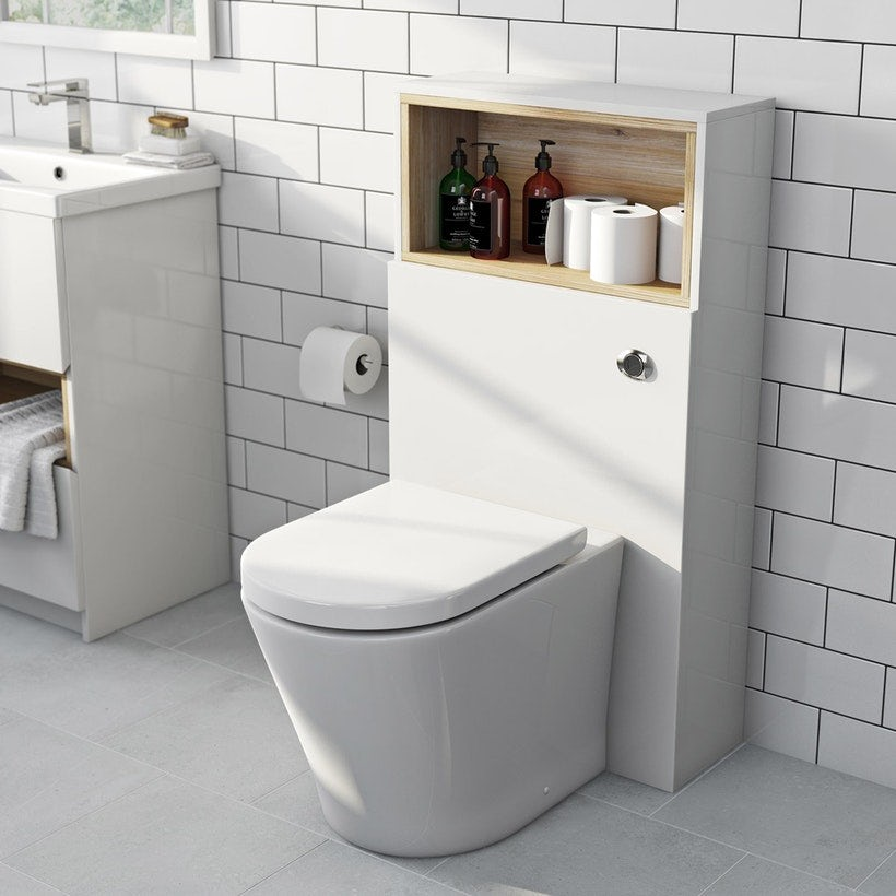 Back to wall toilets and units