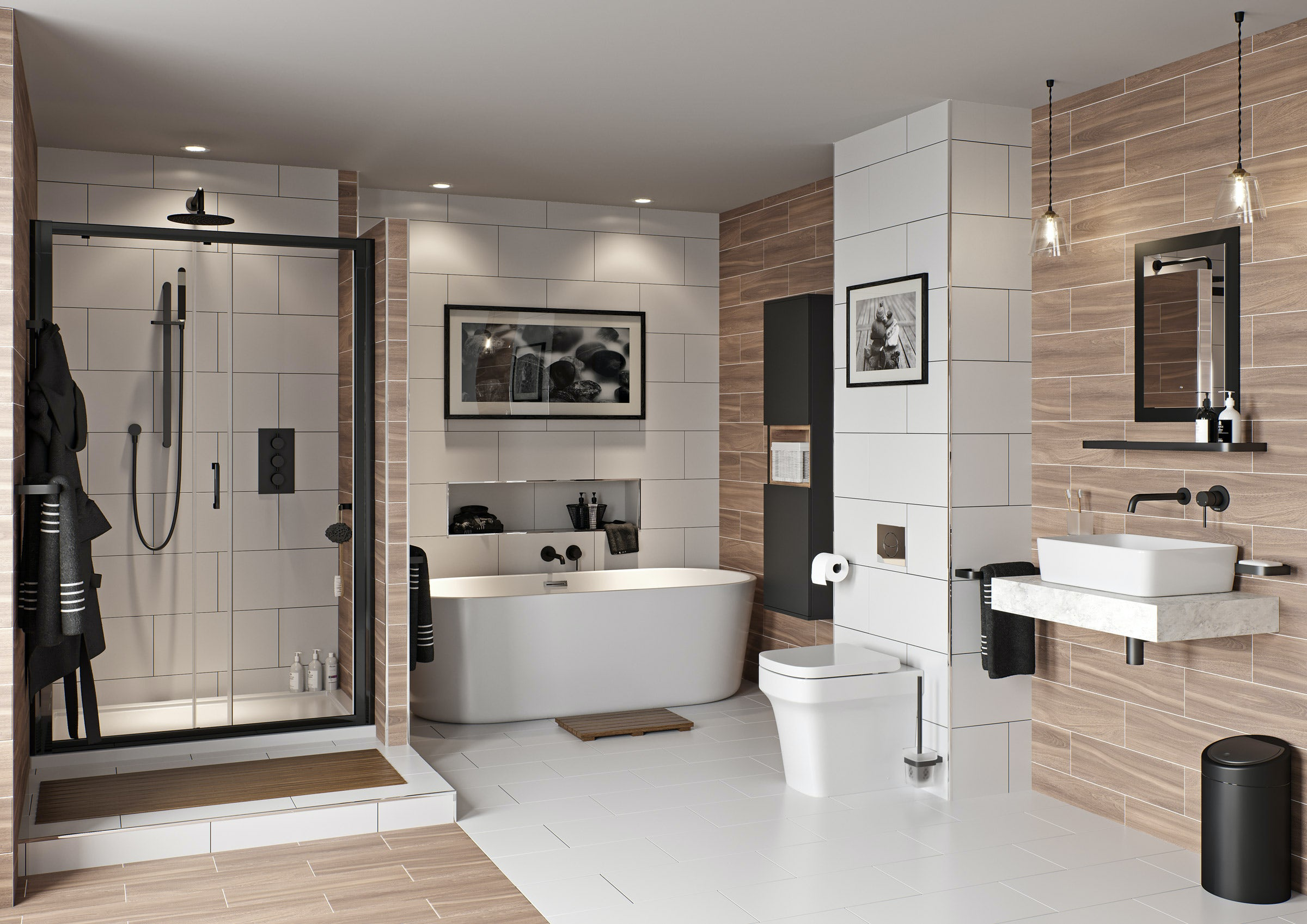 15% off all Mode Bathrooms