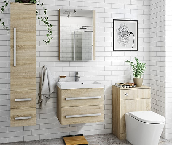 Wye oak bathroom furniture