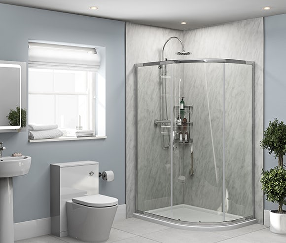 Orchard shower wall panels