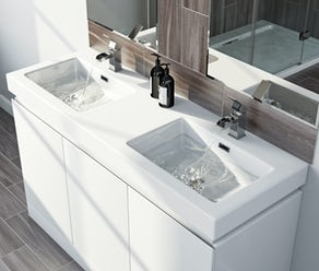 vanity sink. Double basin vanity units Bathroom Vanity Units  with Basins VictoriaPlum com