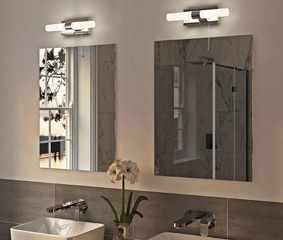 Up to 30% off Bathroom lighting