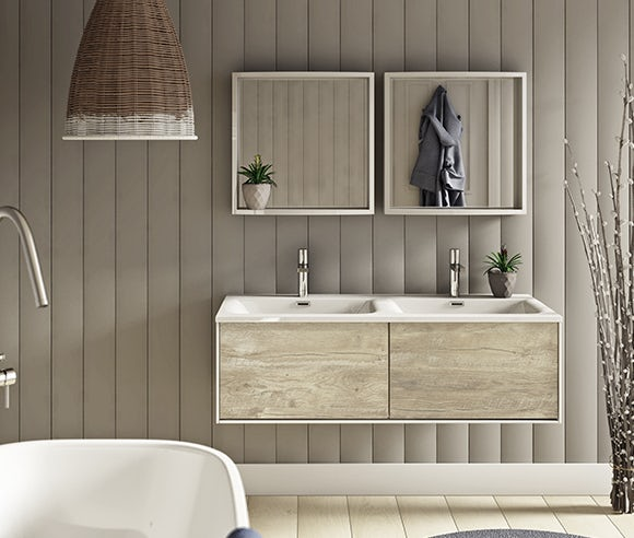 Up to 40% off wall hung vanity units
