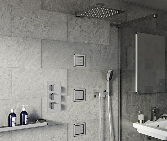Luxury mixer showers