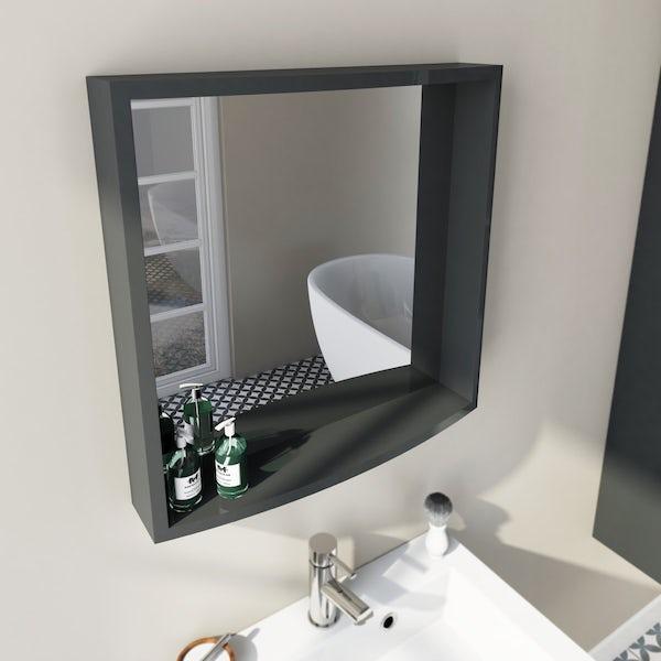 Harrison Slate Floor Unit and Mirror Offer