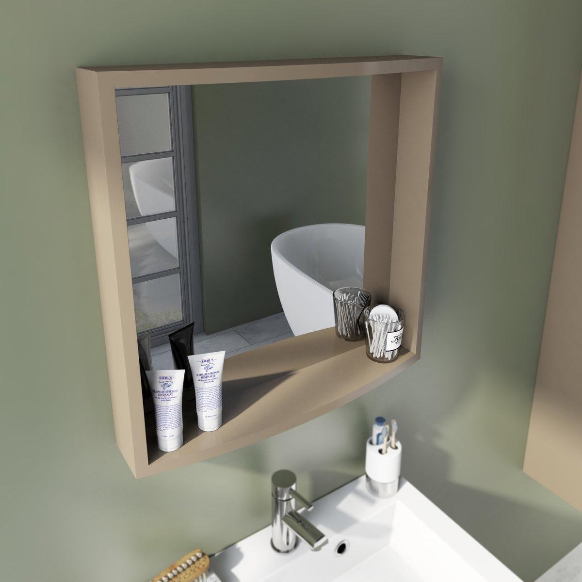 Mode Harrison Mocha Bathroom Mirror