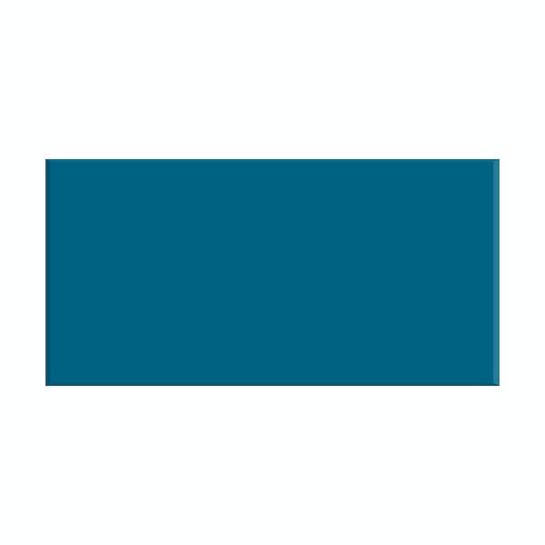 British Ceramic Tile Metro flat navy blue gloss tile 100mm x 200mm