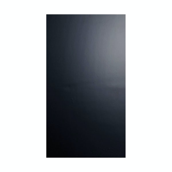 British Ceramic Tile Pure black gloss tile 248mm x 498mm