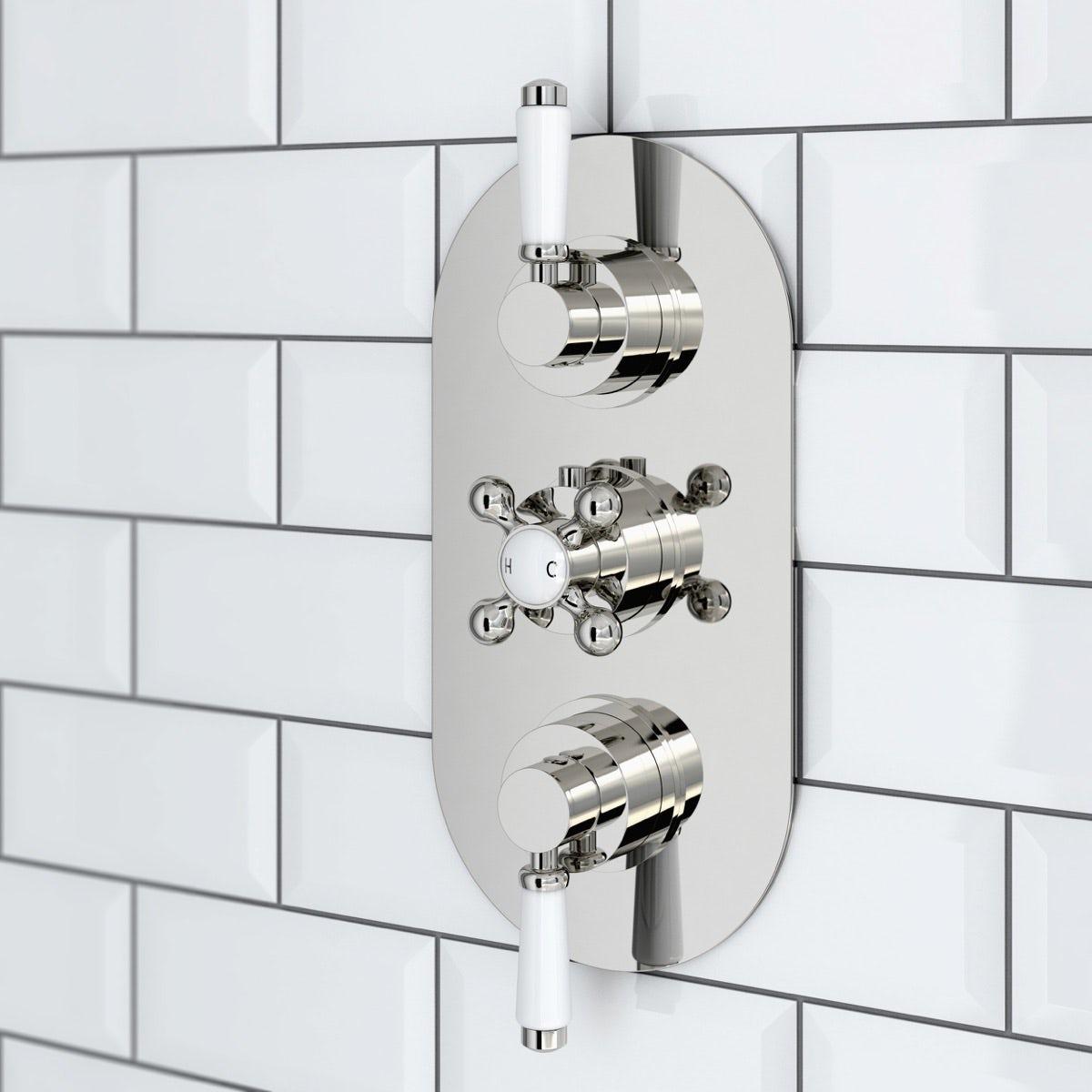 Black White Bathroom Home Safe