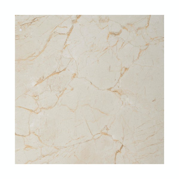 British Ceramic Tile Praline gloss tile 331mm x 331mm