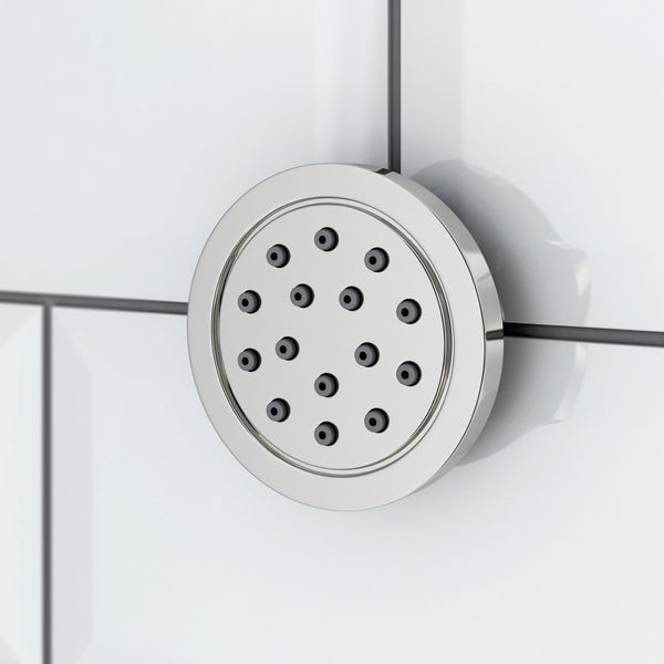 Coniston Complete Thermostatic Ceiling Shower Set