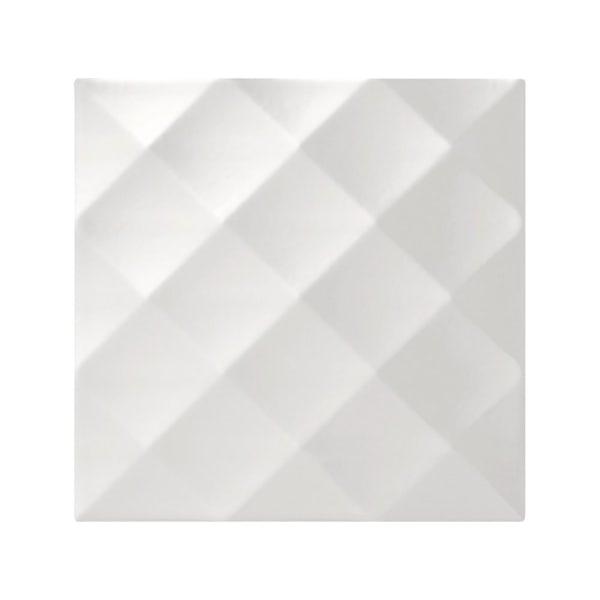 cut out of studio conran white ridged tiles