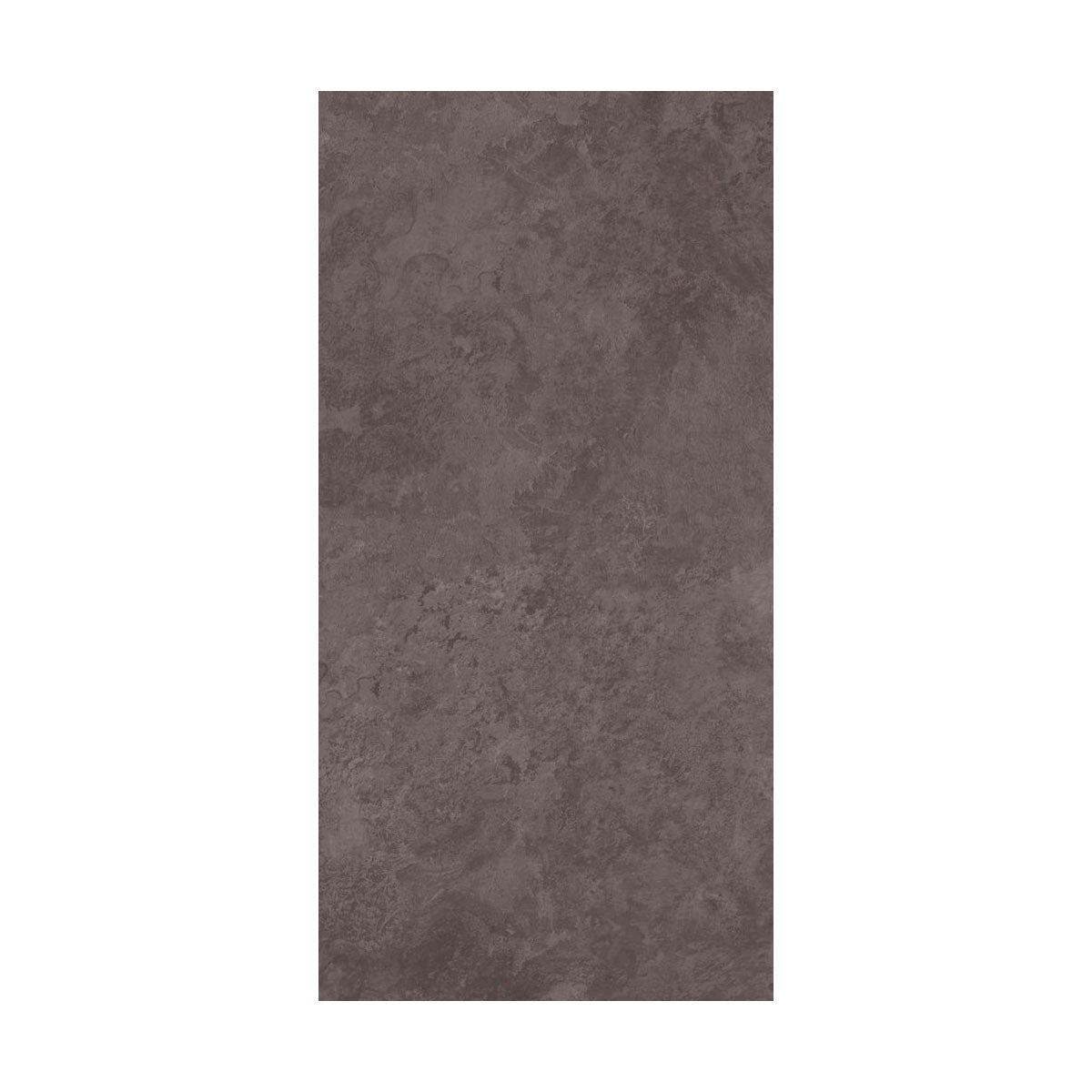 British Ceramic Tile slate dark riven grey matt tile 248mm x 498mm