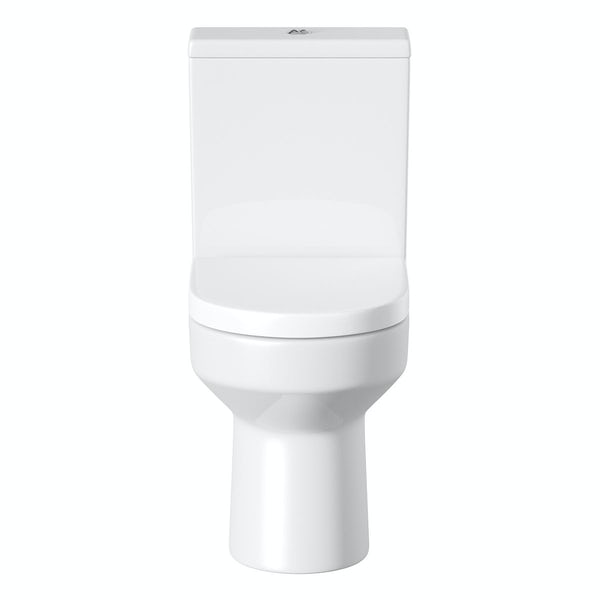 Oakley Close Coupled Toilet inc. Luxury Soft Close Seat