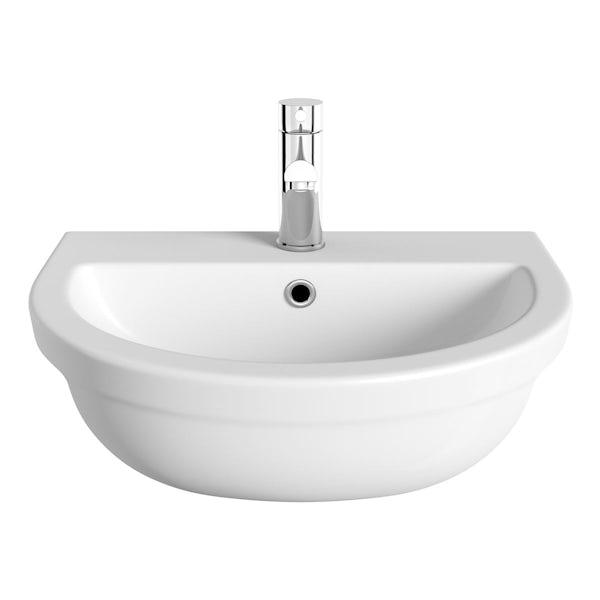 Elena Semi Recessed Basin