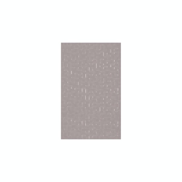 cut out of rectangular poise studio conran tile with pressed mosaic design