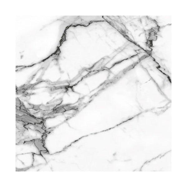 British Ceramic Tile Arctic white matt tile 498mm x 498mm