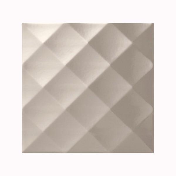 cut out of square putty studio conran tile with ridge design
