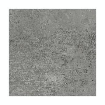 Metropolis dark grey matt tile 331mm x 331mm