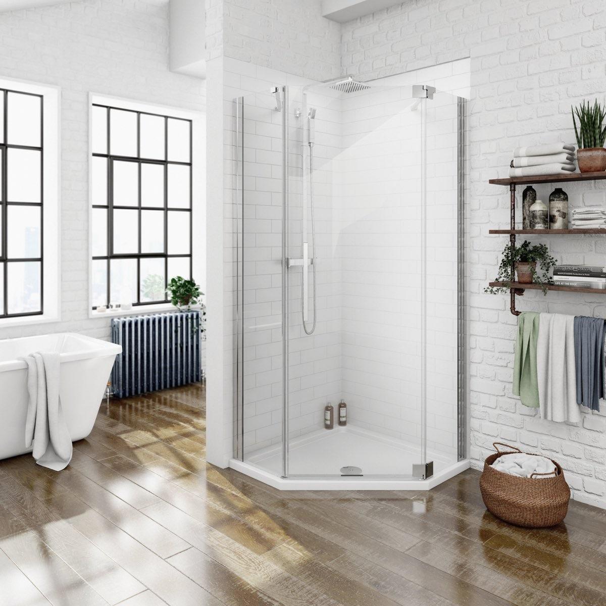 Frameless Shower Enclosures