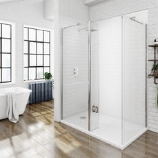 Image of V8+ Walk in Shower Enclosure Pack 1400 x 900