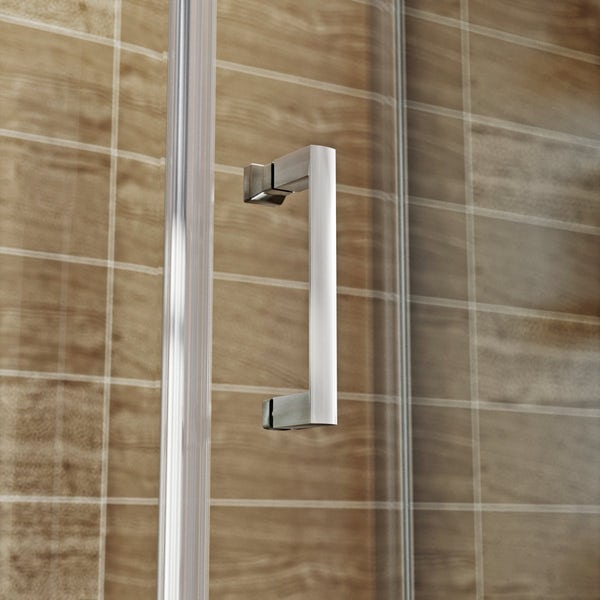 V6 Keyhole Offset Quadrant Enclosure 1500x900 LH