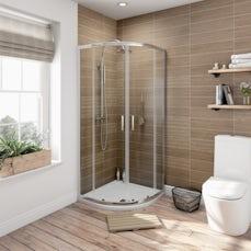 Image of V6 Quadrant Shower Enclosure 900 x 760 Special Offer